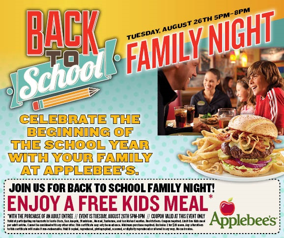 Applebees us coupons