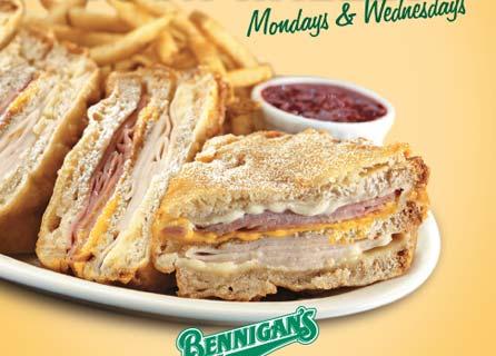 Monte Cristo Sandwich Bennigan's