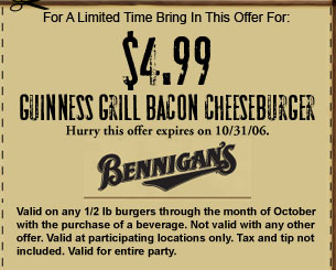 For A Limited Time Bring In This Offer For: