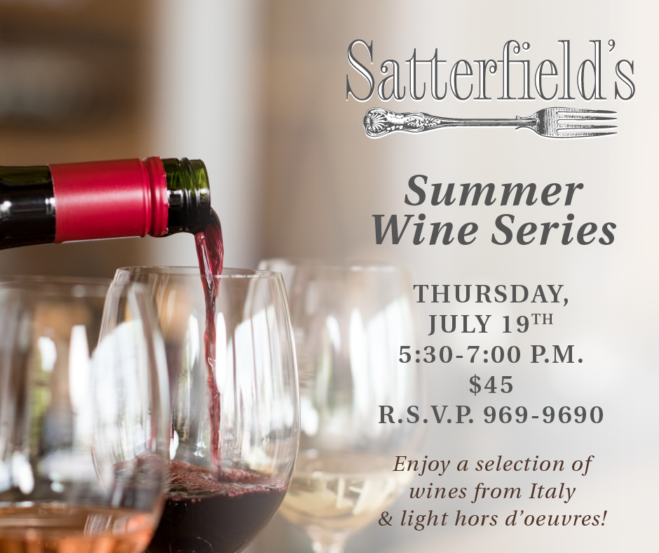 July Summer Wine Series Invite